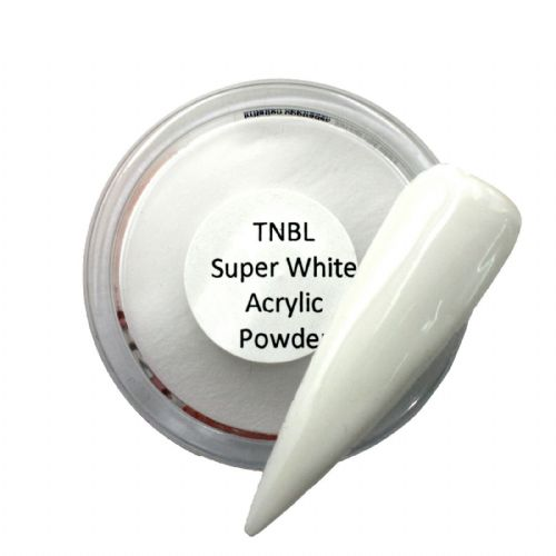 TNBL Super White Acrylic Nail Powder 1oz/4oz/23oz